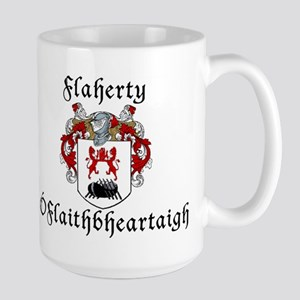 Flaherty In Irish & English Large Mug
