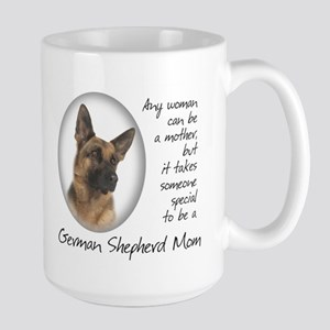German Shepherd Mom Large Mug