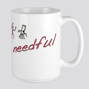 Do the Needful #1 Large Mug