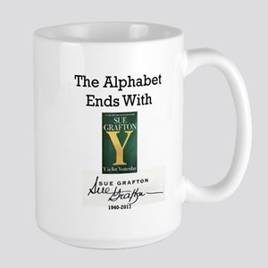 Alphabet Ends With Y 15 oz Ceramic Large Mug