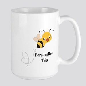 Personalized Cute Bumble Bee Mugs