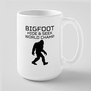 21618028 Hide And Seek World Champion Bigfoot Mugs - CafePress
