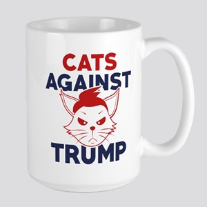 Cats Against Trump Large Mug