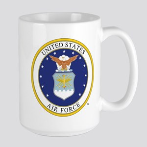 Air Force USAF Emblem Mugs