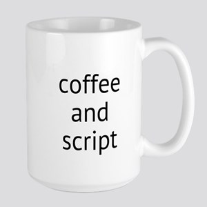 coffee and script Mugs