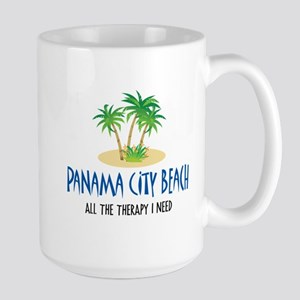 Panama City Beach Therapy - Large Mug