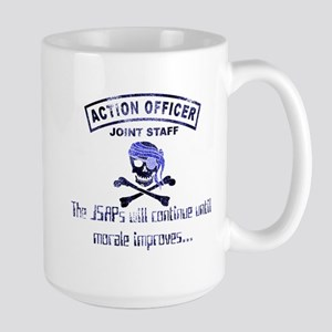 Exclusive Action Officer Gear Large Mug