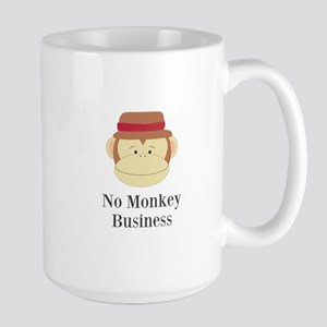 No Monkey Business Mugs