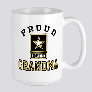 Proud U.S. Army Grandma Large Mug