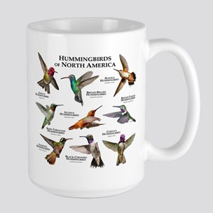 Hummingbirds of North America Large Mug