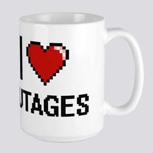 I Love Outages Mugs