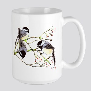Chickadee gathering Mug