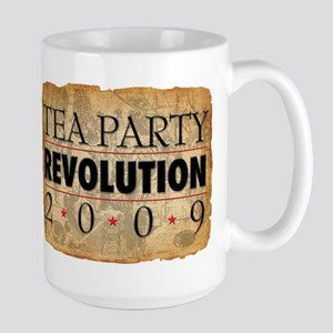 Tea Party Revolution Large Mug