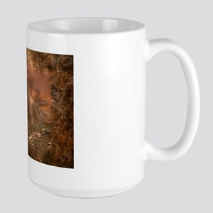 Sunset Cougar Large Mug Mugs