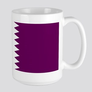 Qatar Flag Large Mug