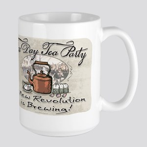 Tax Day Tea Party Large Mug