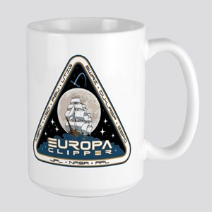 Europa Clipper Logo 15 Oz Ceramic Large Mug Mugs