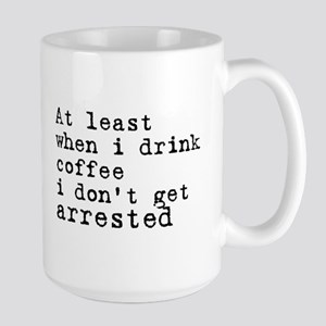 Arrested Large Mug