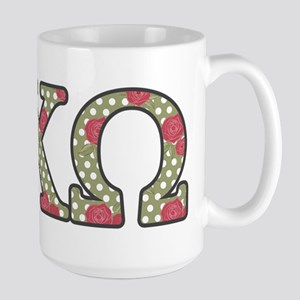 Alpha Chi Omega Rose 15 oz Ceramic Large Mug