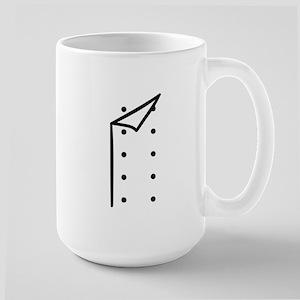 Chef uniform Large Mug
