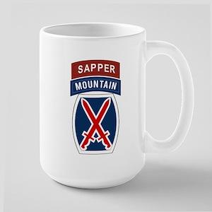 10th Mountain Sapper Large Mug