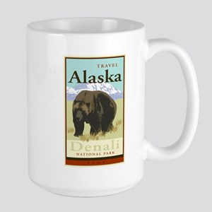 Travel Alaska Large Mug