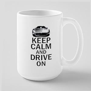 Maserati - Keep Calm Large Mug