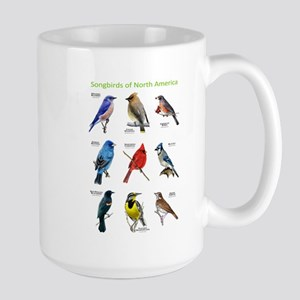 Songbirds of North America Large Mug