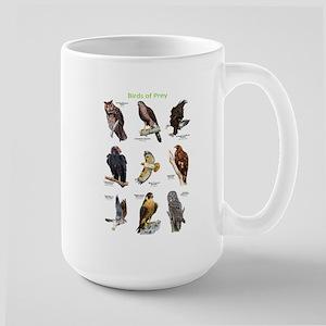 Northern American Birds of Prey Large Mug