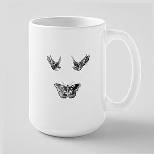 Harry Styles Tattoos Large Mug