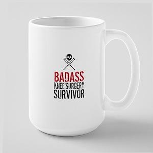 Badass Knee Surgery Survivor Mugs