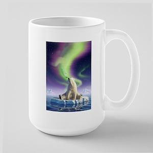 Arctic Kiss 1 Large Mug
