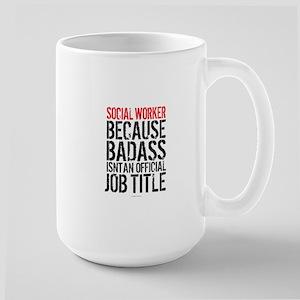 Badass Social Worker Mugs