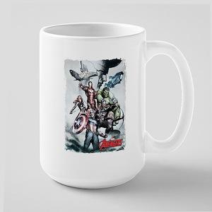 Avengers Sketch Large Mug
