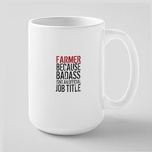 Farmer Badass Job Title Mugs