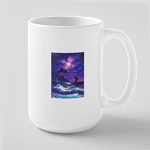 dolphins jumping Mugs