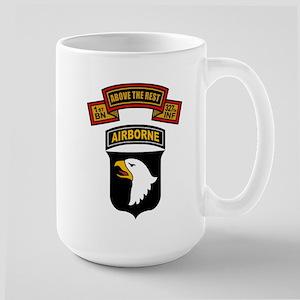 1-327th - 101st Large Mug