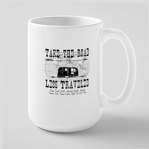 Road Less Traveled Large Mug