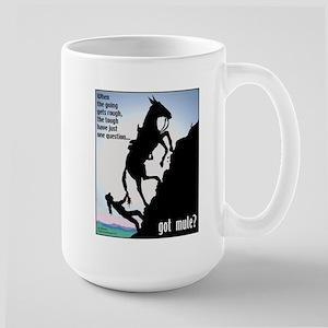 Got Mule? (Woman) Large Mug