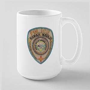 Ramah Navajo Tribal Police Large Mug