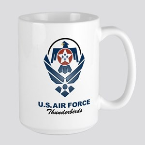 USAF Thunderbirds Diamond Large Mug