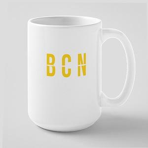BCN - Barcelona Spain- Airport Code Mugs