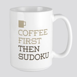 Coffee Then Sudoku Mugs