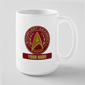 Starfleet Academy Command Patch Large Mug
