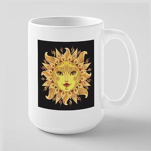 Stylish Sun Large Mug