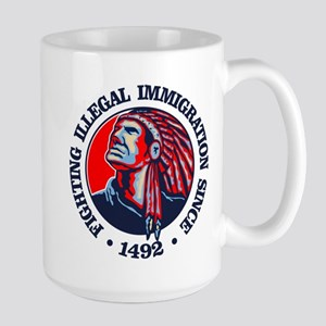 Native American (Illegal Immigration) Mugs
