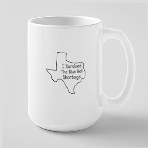 Survived the Blue Bell Shortage Large Mug