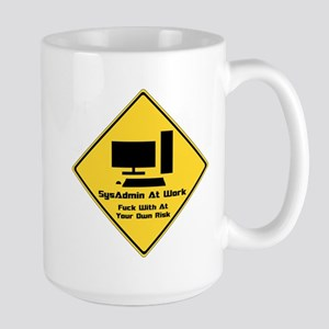 SysAdmin Zone Large Mug