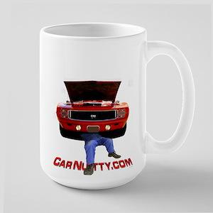 Car Nutty Large Mug