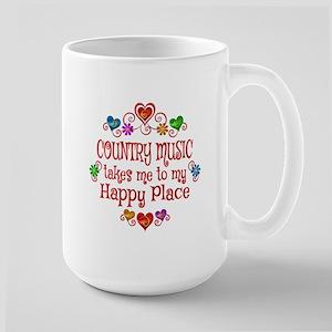 Country Happy Place Large Mug